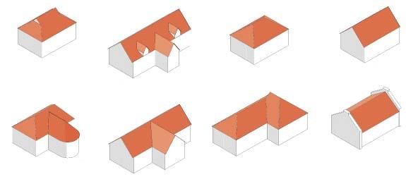 ksztalt dachu