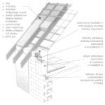 Poddasze użytkowe nad budynkiem w technologii YTONG z więźbą drewnianą