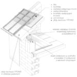 Poddasze użytkowe z dachem wykonanym z płyt dachowych YTONG