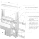Ściana zewnętrzna z zimnogiętych profili ze stali z dodatkową warstwą ocieplenia