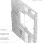 Otwory okienne w ścianach szkieletowych z oblicówką z desek