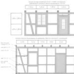 Elementy ściany o konstrukcji szkieletowo-ryglowej