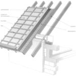 Poddasze użytkowe z dachem izolowanym ponad krokwiami dachowymi