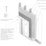 """System ocieplenia ścian szkieletowych metodą """"lekką-mokrą"""""""