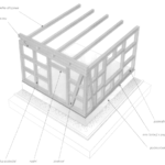 Ściany o drewnianej konstrukcji szkieletowo-ryglowej