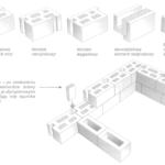 System budowy ścian z pustaków gipsowych