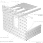 Masywne ściany drewniane o konstrukcji zrębowej