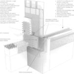 Drewniana konstrukcja szkieletowa z podłogą na gruncie
