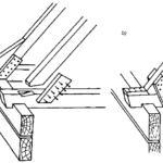 Unowocześnione połączenia w konstrukcjach ciesielskich (dachów)