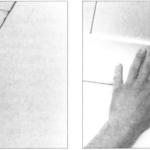 Przyklejanie wklęsek styropianowych i wiórowych
