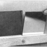 Naklejanie płytek lustrzanych