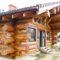 Konstrukcja zrębowa - ściany wieńcowe